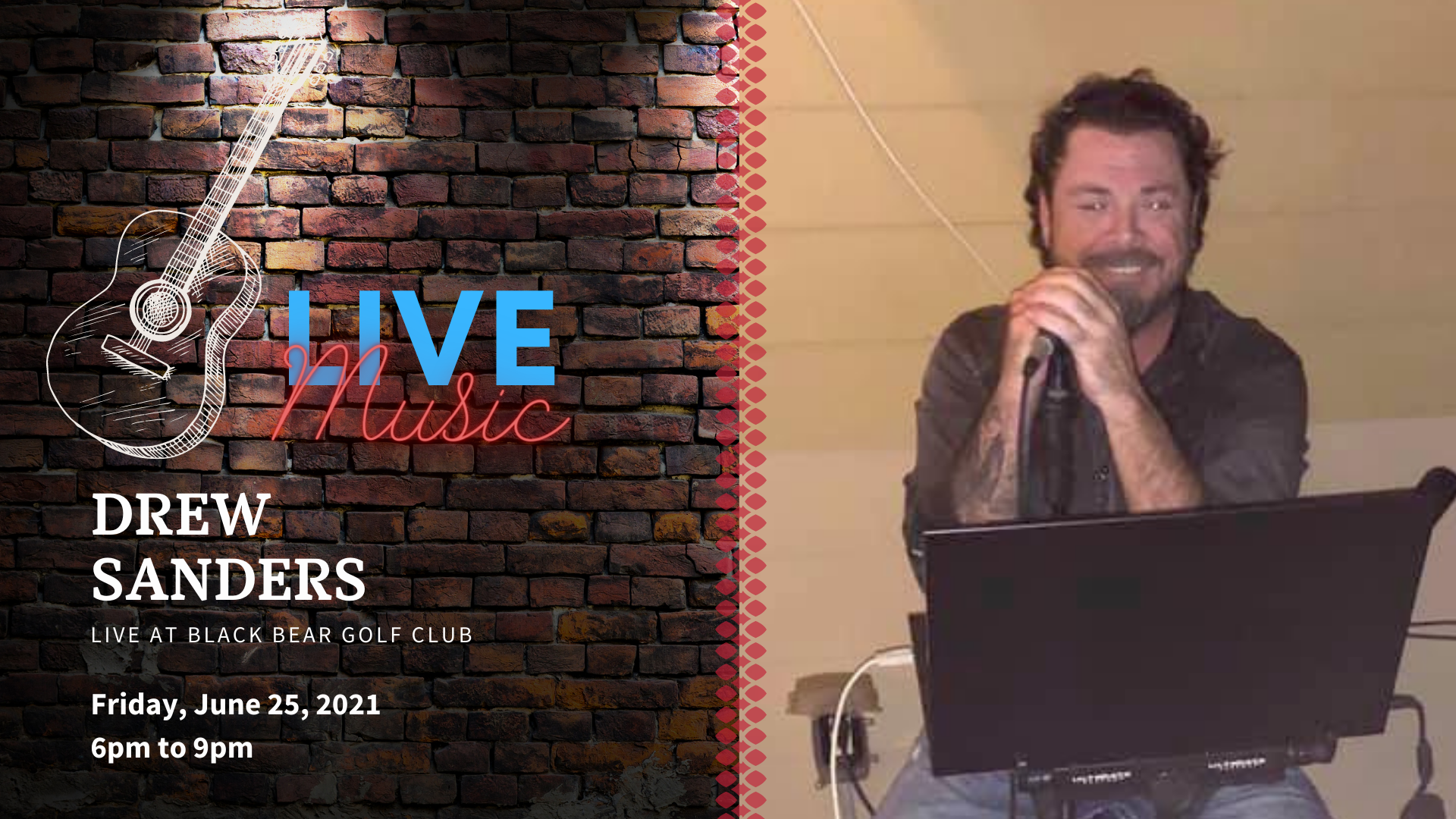 Live Music with Drew Sanders